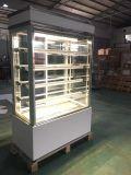 Refrigerador do bolo do compressor de Embraco com vidro antigelo (S740V-M)