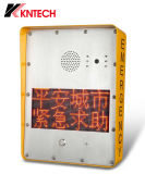 Telefono Emergency pubblico del punto di guida dei telefoni del telefono Knzd-33 VoIP