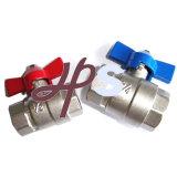 Tous les types d'usine en laiton en laiton ou à faible teneur en plomb de robinet à tournant sphérique