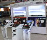 硬貨によって作動させるレーザーの射撃のアーケード・ゲーム機械