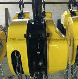 판매를 위한 1500kg Hsc 유형 직업적인 휴대용 건축 드는 공구 수동 폴리 체인 호이스트