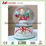 Xmas Waterglobe смолаы глобуса снежка для домашних подарков украшения и промотирования, купола глобуса воды