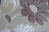 tela de Upholstery do jacquard 3D na base do cetim
