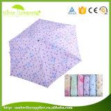 숙녀를 위해 소형 5개의 겹 우산 광고