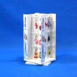 Het metaal Geslagen Rek van de Expositie van de Winkel van Revovling van de Plaat Tegen voor de Stickers van de Magneet (PHD8009)