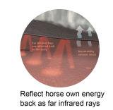 Los productos de infrarrojo lejano terapéutico caballo mantas de lana (SMRU335F)