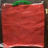 Verpackenorange pp. Linon-Ineinander greifen-Nettobeutel der kartoffel-