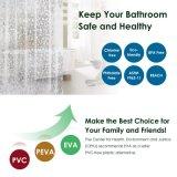 새로운 디자인 곰팡이 저항하는을%s 가진 주문 EVA 방수 목욕탕 샤워 커튼