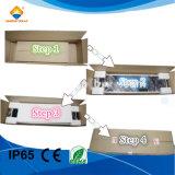 12W Integrated solar Calle luz LED lámpara con certificado CE RoHS