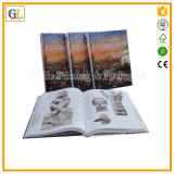 Servicio de impresión a todo color profesional del libro de Hardcover