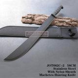 Ножи корабля Непала лезвия тактических ножей ножей звероловства фикчированные 55cm