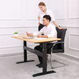 주문을 받아서 만들어진 위원회 물자 및 모양을%s 가진 단 하나 모터 조정가능한 책상. 컴퓨터 책상