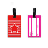 Bussiness Geschenk-Standardgröße weiche Belüftung-Plastik-Identifikation-Karten-Gepäck-Marke