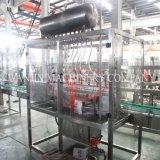 Machine de remplissage linéaire automatique d'huile de miel de pâte de piston