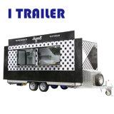 판매를 위한 이동할 수 있는 간이 식품 트럭 또는 커피 가는 손수레