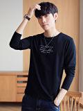 Custom органического хлопка Tee футболка печать ткани мужские футболки