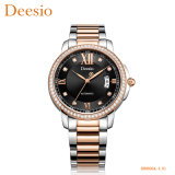 Horloges van de Mensen van het Polshorloge van de Manier van de luxe de Mechanische Zacht van Diamanten voor de Horloges van de Giften van Mensen