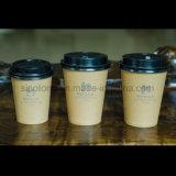 tazza di carta Kraft del caffè a gettare di 4oz 7oz 8oz 12oz 16oz 20oz