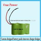 6V Batería de NiMH 2/3una batería de 1100mAh para juguetes