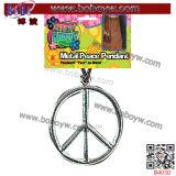 De Dienst van de Juwelen van de Markt van Yiwu van het Teken van de Vrede van het Ornament van de Partij van de Decoratie van Kerstmis (B4030)