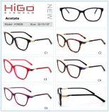 イタリアデザイナーアセテートの光学Eyewearの準備ができた標準的な目ガラスフレーム