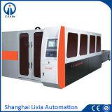 2400 Вт в полностью закрытом переключаемое волокна лазерная резка машины Lx-Q8800 относятся к легированная сталь