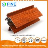 Успешных продаж штампованного алюминия профилей с помощью деревянных передачи в Фошань
