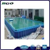* 10m 10m châssis métallique de la piscine pour l'été