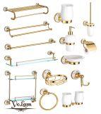 贅沢なデザインおよび耐久の使用された浴室の真鍮のアクセサリは卸売価格(98のシリーズ)とセットした