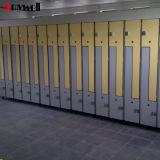 De gelamineerde Bank van de Laag van de Gymnastiek Enige van Één Wardrobe Cheap HPL SPA Kast