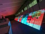 Service ouvert avant affichage LED de la station essence