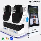 Зарабатывать деньги аркадной игры виртуальной реальности машины имитации домашнего кинотеатра 9d яйцо Vr кино с большой сенсорный экран