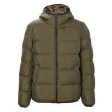 Blusa com capuz para homens elegantes para baixo casaco jaqueta para baixo Jaqueta Down-Filled leve