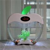 Квт2015круглый мини аквариум чаша стеклянная рыба топливного бака