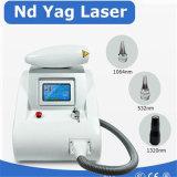 1064нм 530нм Q-ND YAG лазер Tattoo Remaval машины