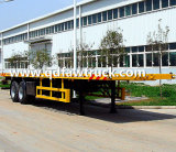 40FT Flatbed vrachtwagen van de Container, Semi Aanhangwagen, semi flatbed aanhangwagen