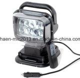 Luz de la búsqueda de la pulgada LED de DC12V 24V 7 con teledirigido