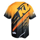 Novo Design Ktm Quick-Dry Motorcycle Riding Sport Jersey (cinzas07)