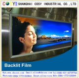 Cópia dianteira impermeável anúncio Backlit da película