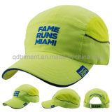 屋外の反射100%年のポリエステルネオン高い可視性の野球帽(TMB0682)