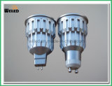 indicatore luminoso del punto del riflettore GU10 LED della PANNOCCHIA LED di versione di 10W Dimmable con l'alluminio freddo 800lm 80ra di pezzo fucinato