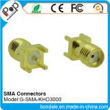 Connecteur coaxial de connecteurs de SMA Khd3000 pour le connecteur de SMA