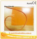 calentador de agua del silicón de 20-24c 12V 50W 50*125*1.5m m