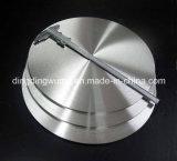 Диск нажимной накладки чисто молибдена круглый для печи выращивания кристаллов сапфира