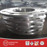 Ajustage de précision de pipe d'acier inoxydable d'acier du carbone de bride de Wn