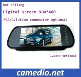 """7 """" Monitor van de Spiegel van de Mening van de Auto van TFT LCD de Achter Rearview met Facultatieve USB/SD/MP5"""