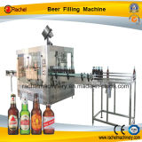 Bière automatique rinçant la machine recouvrante remplissante