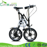 1秒の折るバイク2の車輪7の速度の小型の自転車