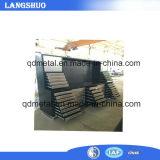 Boîte à outils d'emballage de stockage Heavy Roller en métal