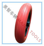 Roda de espuma de poliuretano de 10 polegadas para rodas de automóveis para crianças, brinquedos de carrinho de bebê e outras rodas de veículos especiais